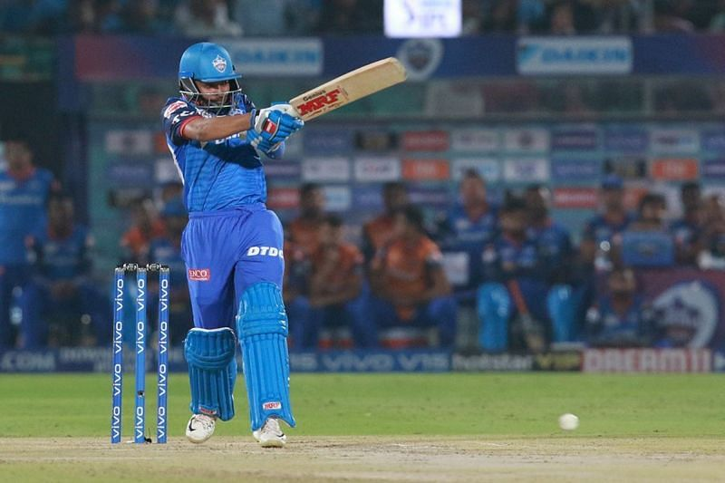 Prithvi Shaw has not clicked for the Delhi Capitals at the top of the order [P/C: iplt20.com]