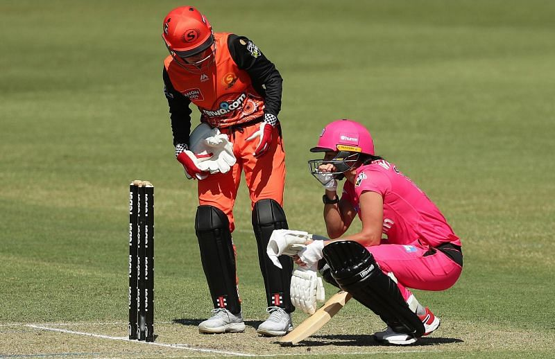 Marizanne Kapp suffered from an elevated heart rate in the WBBL game against Perth Scorchers [courtesy: Getty]