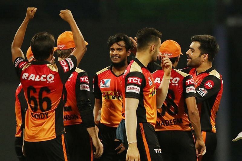 The Sunrisers Hyderabad bowlers have been able to keep the opposition batsmen in check [P/C: iplt20.com]