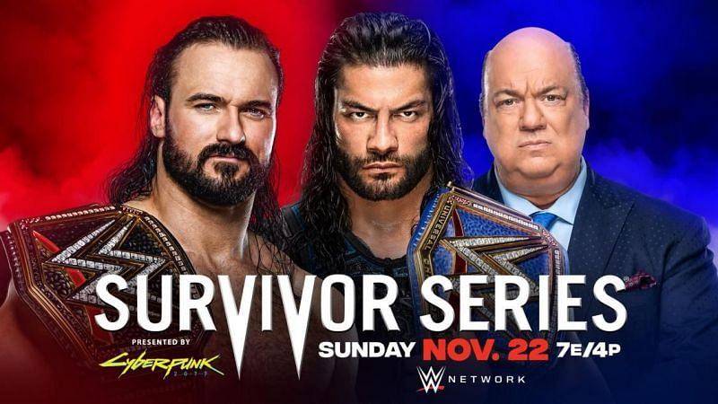 Survivor Series 2020 will see RAW vs. SmackDown as always