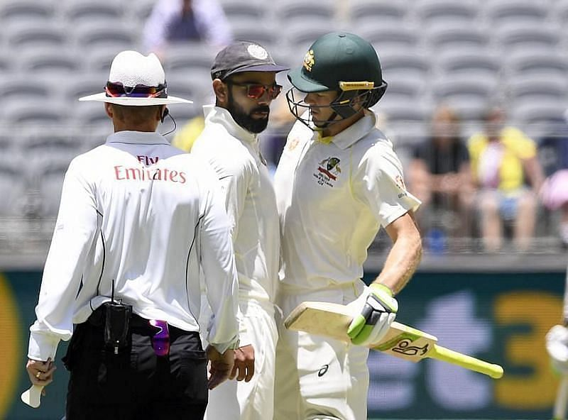 Tim Paine Virat Kohli had a go at each other constantly during the 2018-19 Test series