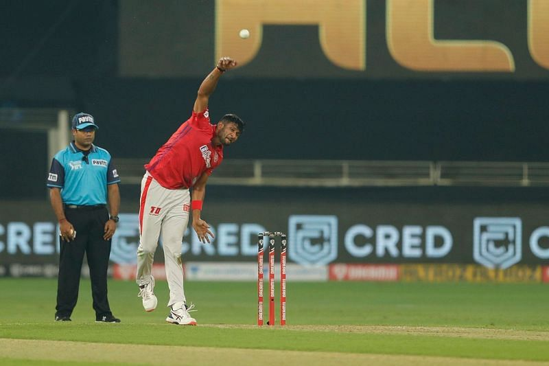 Krishnappa Gowtham bowled at a very high economy of 10.50 in IPL 2020