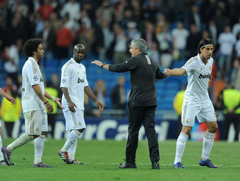 Khedira worked with Mourinho at Real Madrid