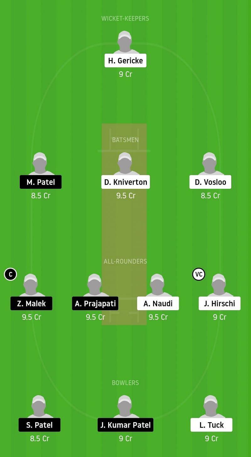 Dream11 Team for OVR vs AUM - ECS Malta 2020.