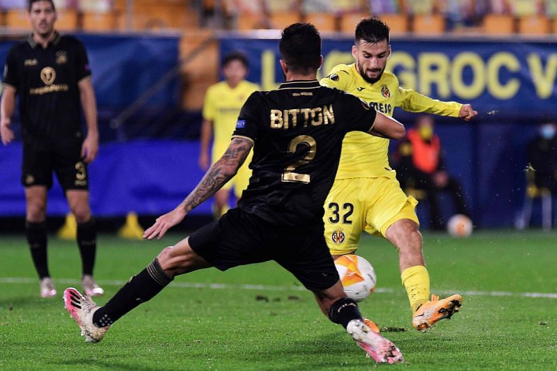 Villarreal thumped Maccabi 4-0 in the first leg at home