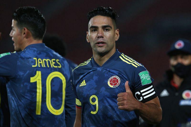 Colombia skipper Radamel Falcao