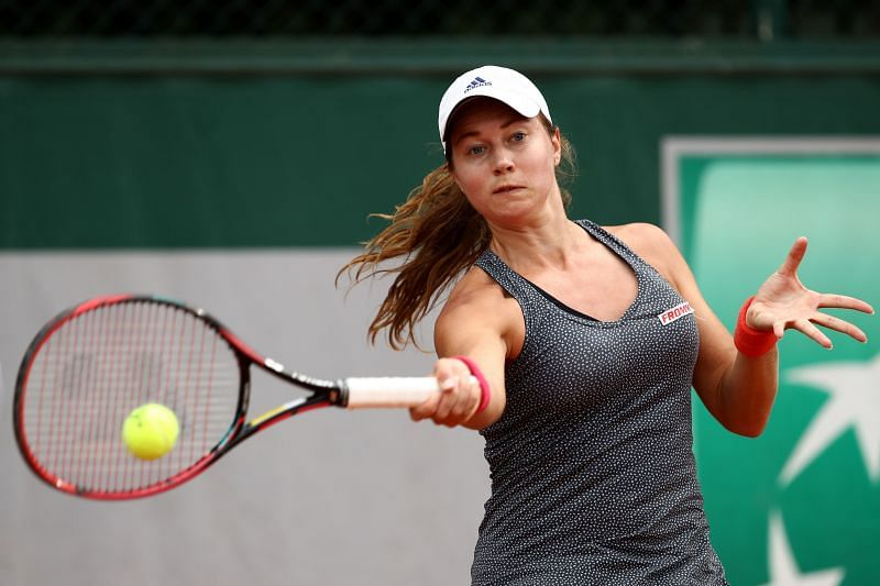 Stefanie Voegele at the 2018 French Open
