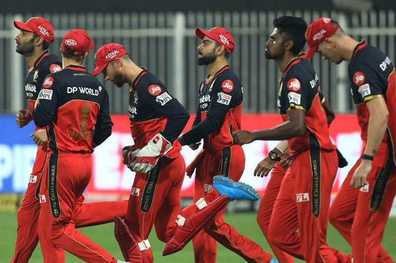 RCB have been eliminated from IPL 2020