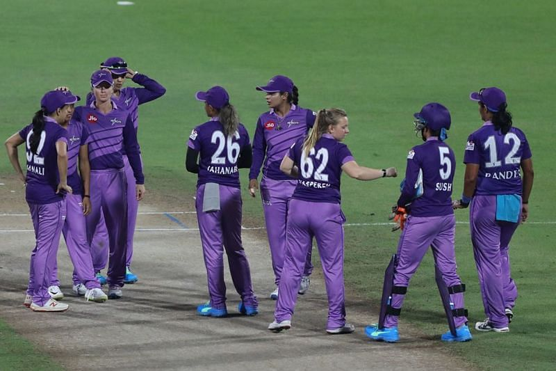 Velocity registered their first-ever win over the Supernovas. Image credits - IPL