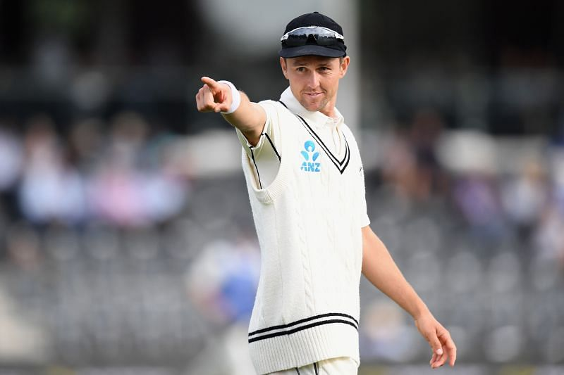 Trent Boult during the Test series against India earlier this year