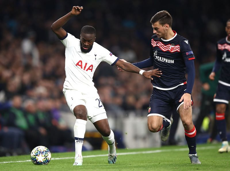 Ndombele has not featured extensively for Spurs