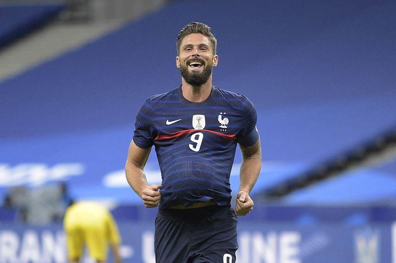 Olivier Giroud netted twice as France beat Sweden.