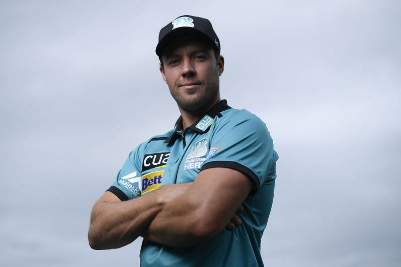 AB de Villiers played for the Brisbane Heat in BBL 2019-20