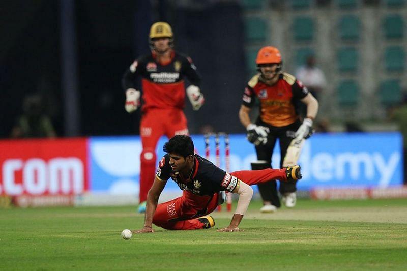Sundar had a poor day with both bat and ball. [PC: iplt20.com]