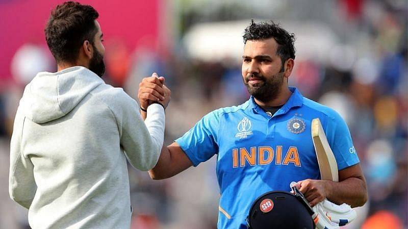 Virat Kohli and Rohit Sharma are the pillars of the Indian batting lineup