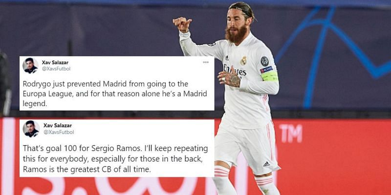 twitter explodes as real madrid secure dramatic 3 2 win against inter milan real madrid secure dramatic