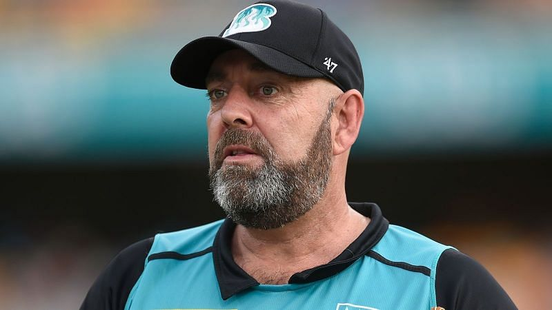 Darren Lehmann was appointed head coach of Brisbane Heat in March 2019