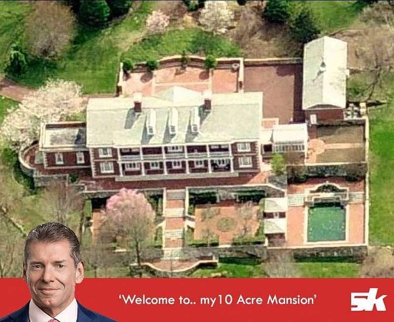 Vince McMahon's house