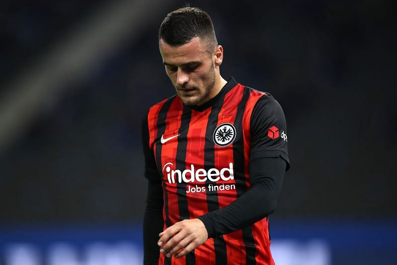 Filip Kostic is back for Eintracht Frankfurt