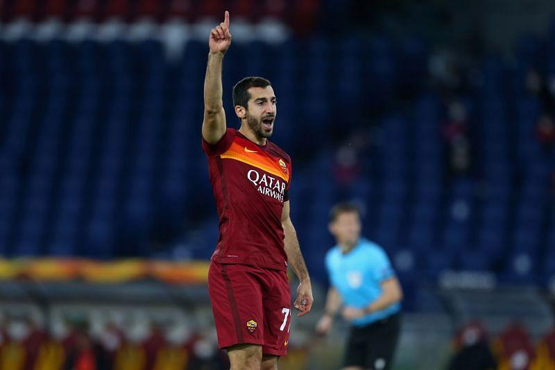 AS Roma play Genoa on Sunday