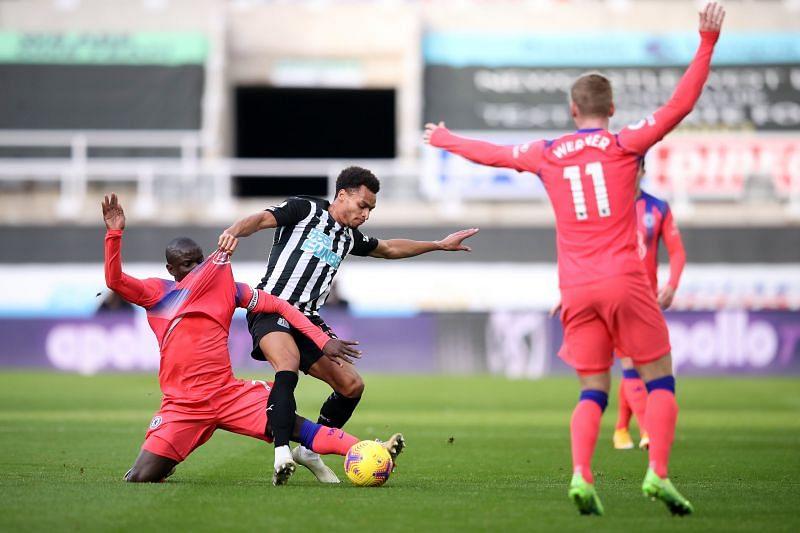 Chelsea beat Newcastle United 2-0 on Saturday