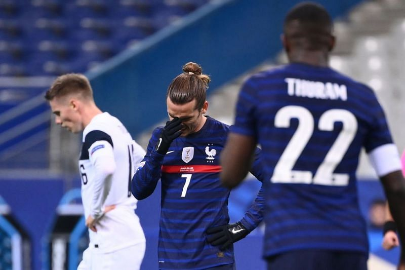 France lost 2-0 to Finland in Paris