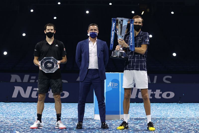 Dominic Thiem finished runner-up for the second time at the ATP Finals