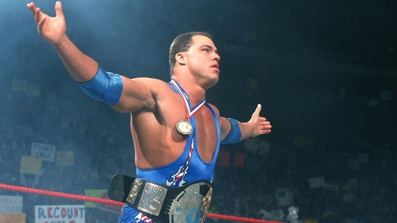Kurt Angle made an appearance in ECW in 1996