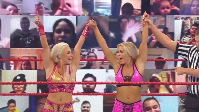 Tonight on WWE RAW, both Mandy Rose and Dana Brooke suffered injures and are now out of Survivor Series on Sunday.