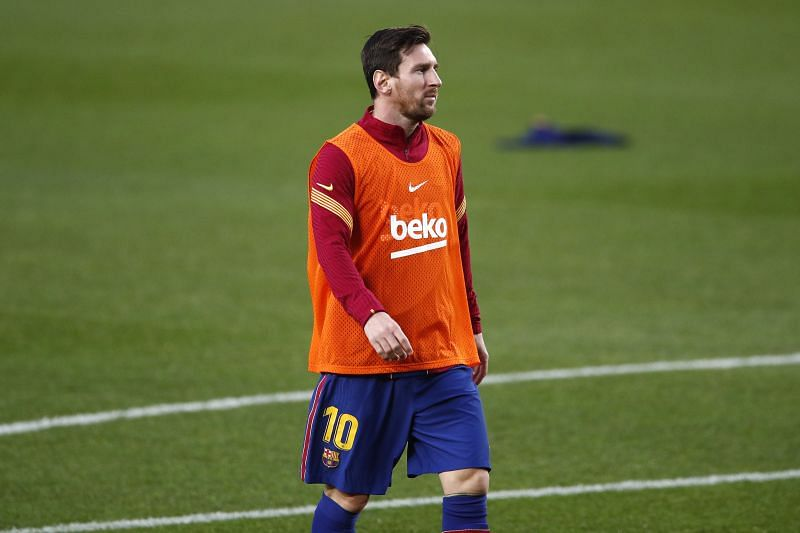 Lionel Messi did not start Barcelona
