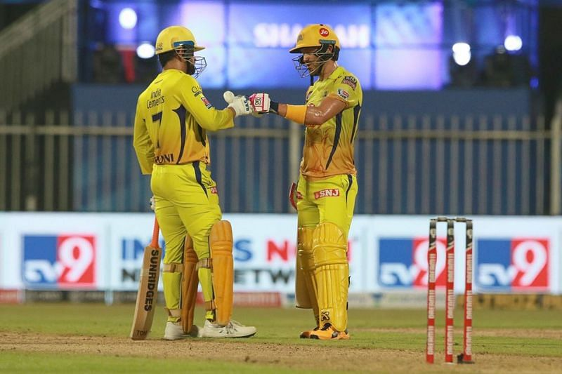Sanjay Bangar believes that MS Dhoni could pass on the CSK captaincy to Faf du Plessis [P/C: iplt20.com]