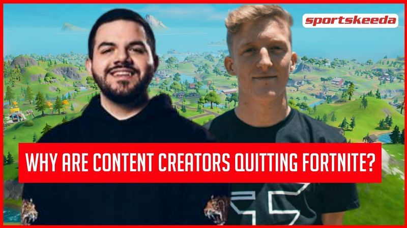 Renowned Fortnite streamers like Tfue and CourageJD quit the game