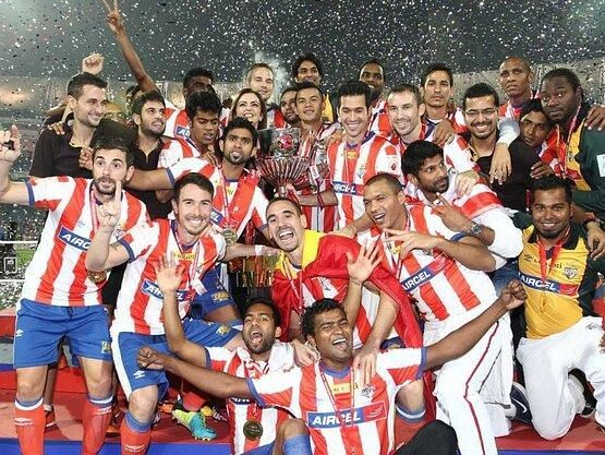ATK won the inaugural edition of the ISL in 2014