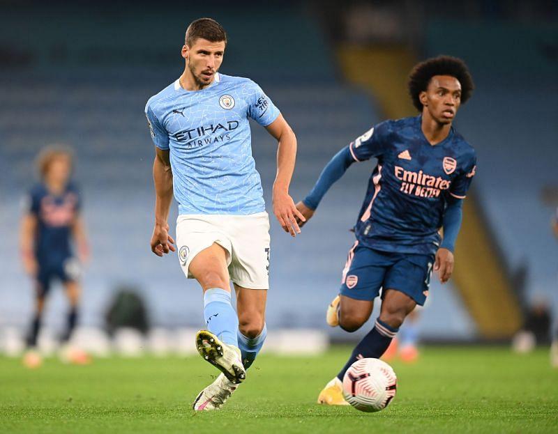 Ruben Dias of Manchester City