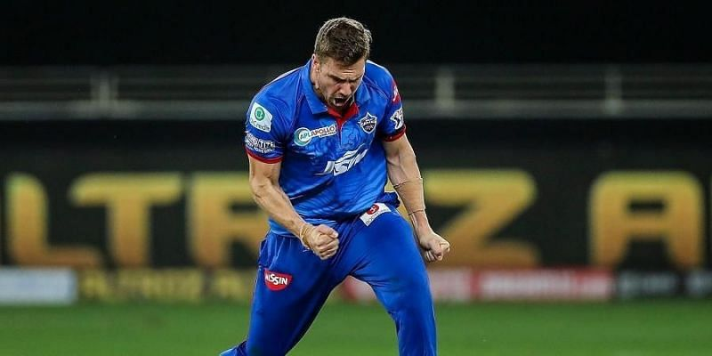 Nortje was the fastest bowler on display in IPL 2020