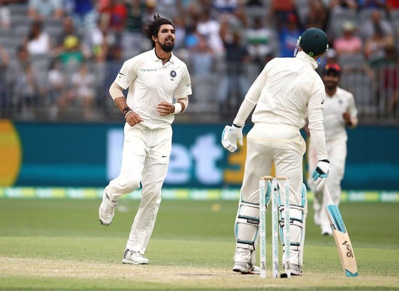 Ishant Sharma picked 11 wickets in three Tests during India
