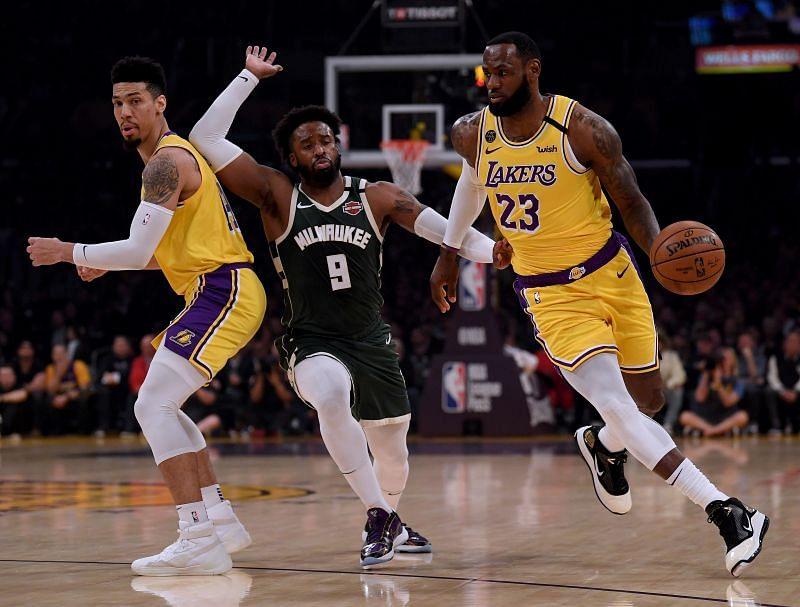 Milwaukee Bucks v Los Angeles Lakers