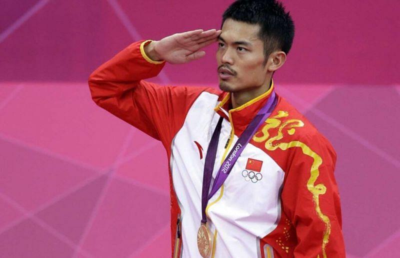 Lin Dan at the 2012 London Olympics