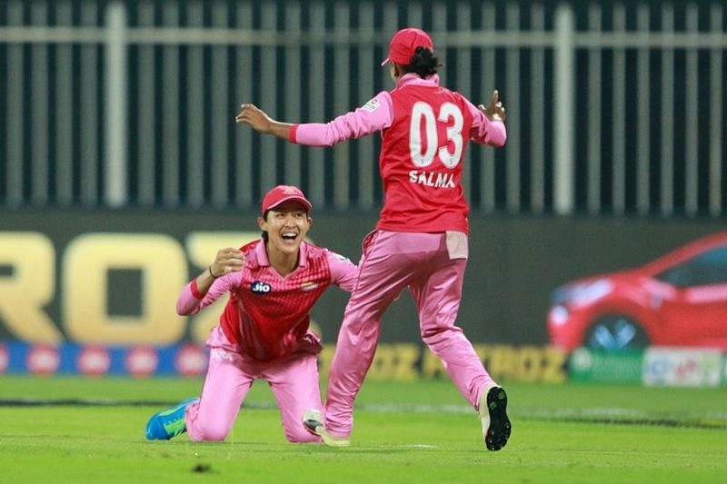Smriti Mandhana was delighted with the Trailblazers bowling and fielding performances [P/C: iplt20.com]
