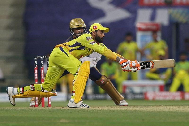Ravindra Jadeja batting against KKR [iplt20.com]