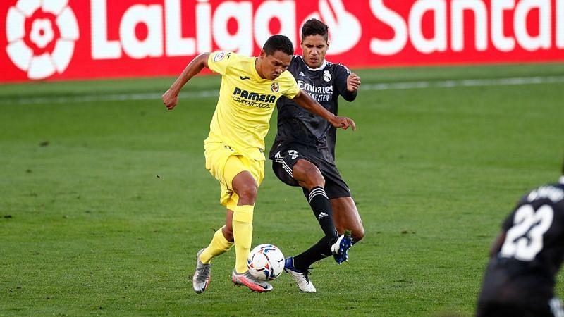 RealMadrid drew 1-1 against Villarreal in La Liga