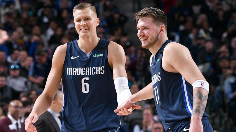 Porziņģis and Dončić have already built quite a partnership.