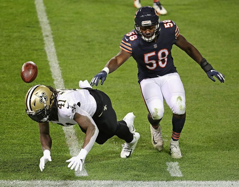 Roquan Smith has made a big change in the Chicago Bears defense