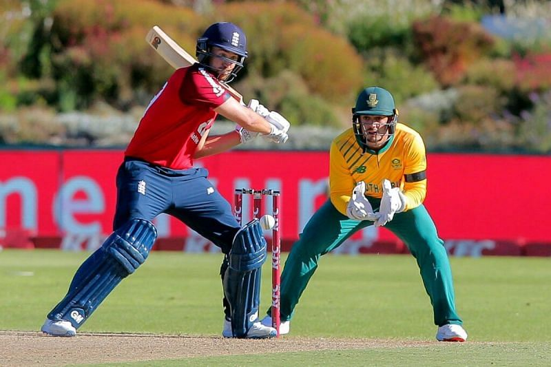 Malan played a great knock for England.
