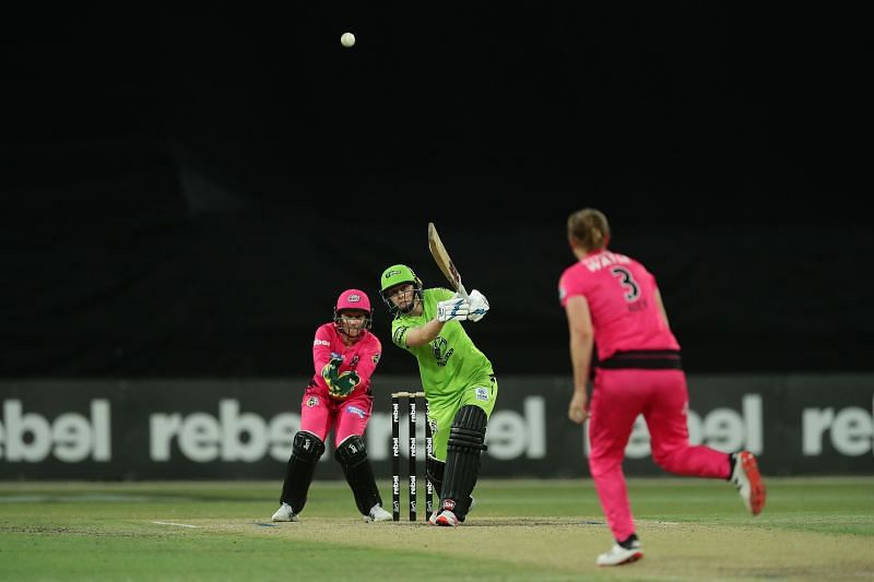 Heather Knight could be a key player for the Sydney Thunder in the WBBL 2020 final.