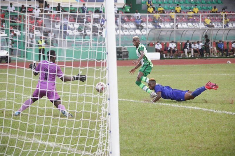 Nigeria capitulated after going 4-0 up to Sierra Leone in the first leg