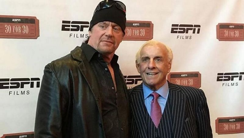 The Undertaker and Ric Flair are good friends outside the ring