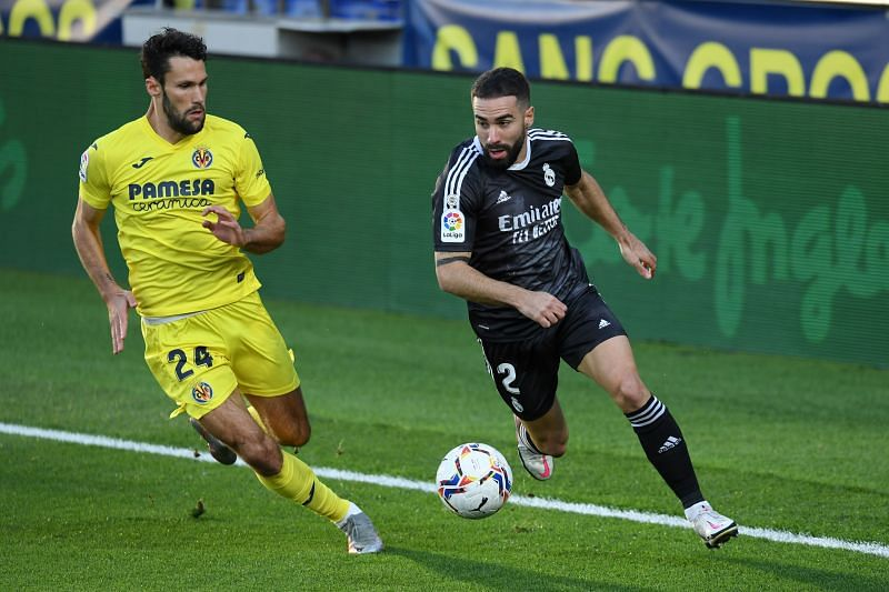Dani Carvajal in action