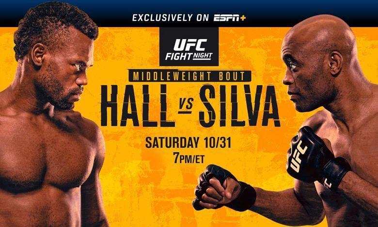 UFC VEGAS 12: HALL VS. SILVA RESULTS