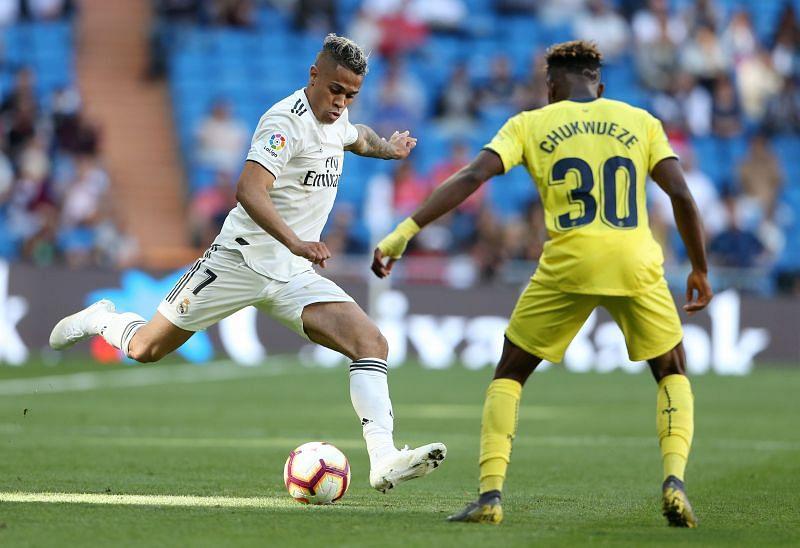 Real Madrid CF striker Mariano Diaz